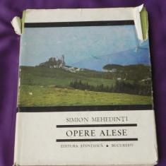 Simion Mehedinti - Opere alese (f0246 - Carte Geografie