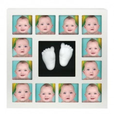 Rama foto cu mulaj 3D 'My First 12 Months Wall of Fame' Kidzzcast