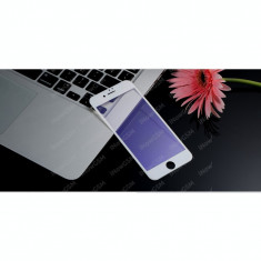 Folie sticla Apple iPhone 7 Anti Blueray curbata 3D Remax alb negru gold - Folie de protectie Remax, Anti zgariere