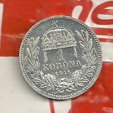 Cu luciu-1 korona 1915-Ag=5 gr