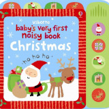 Babys very first noisy book Christmas - Usborne book - Carte educativa