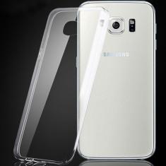 Husa silicon moale Samsung Galaxy S6 Edge - Husa Telefon, Transparent