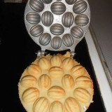 Forma de nuci prajituri cu 16 gauri - Forma prajitura
