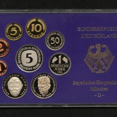 X043 GERMANIA 1988 SET MONETARIE MUNCHEN