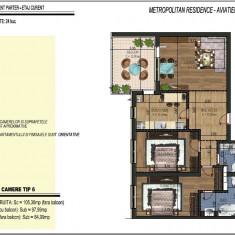 Apartament 3 camere tip 6, decomandat, bloc nou, Aviatiei - DIRECT DEZVOLTATOR - Apartament de vanzare, 97 mp, Numar camere: 3, An constructie: 2016, Etajul 4