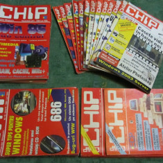 Set 35 reviste CHIP perioada 1992-2003 pentru colectionari - Revista IT