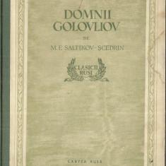 DOMNUL GOLOVLIOV - M.E. SALTIKOV - SCEDRIN - Carte poezie