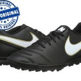 Adidasi barbat Nike Tiempo Rio 3 - adidasi originali - adidasi fotbal - Ghete fotbal Nike, Marime: 44, Culoare: Negru, Barbati, Teren sintetic: 1