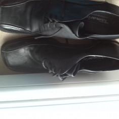 TAMARIS pantofi dama office piele negri marimea 42 - Pantof dama Tamaris, Culoare: Negru