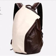 POLO VICUNA - geanta/rucsac din piele PU - Geanta Barbati, Marime: Medie, Culoare: Maro