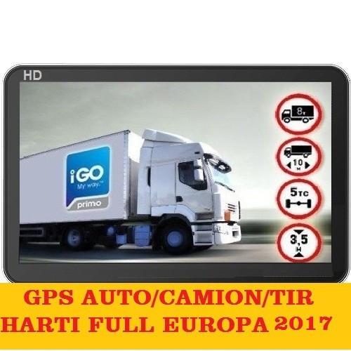 "GPS 7""  NAVIGATIE Auto Taxi Tir Camion HD Bluetooth HARTI FULL EUROPA 2017 foto mare"