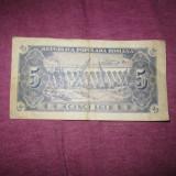 Bacnota 5 lei 1952 c2 - Bancnota romaneasca