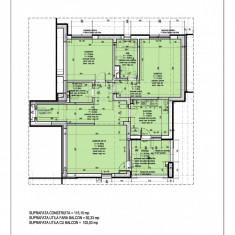 3 camere tip 2, decomandat, bloc nou, Aviatiei => 0% COMISION - Apartament de vanzare, 102 mp, Numar camere: 3, An constructie: 2016, Etajul 2