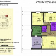 3 camere, decomandat, bloc nou, Aviatiei - DIRECT DEZVOLTATOR => 0% COMISION - Apartament de vanzare, 96 mp, Numar camere: 3, An constructie: 2016, Parter