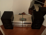 Mini sistem audio Technics CA01 si boxe Yamaha NX-E100 ! Linie audio Technics !