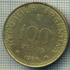 7880 MONEDA- ARGENTINA - 100 PESOS - anul 1980 -starea ce se vede, America Centrala si de Sud