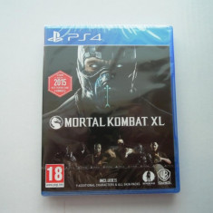 Joc Mortal Kombat XL, PS4, original si sigilat, alte sute de jocuri! - Jocuri PS4, Actiune, Toate varstele, Multiplayer