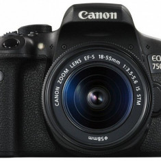 Canon EOS 750D kit (18-55mm IS STM) - DSLR Canon, Kit (cu obiectiv), Peste 16 Mpx, Full HD
