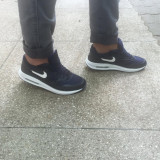 Adidasi unisex NIKE AIR MAX - Adidasi barbati Nike, Marime: 42, 43, 44, Culoare: Negru, Piele sintetica