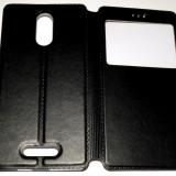 Husa Protectie Toc Flip Cover Tip carte Allview X3 Soul Style - Husa Telefon Allview, Negru, Piele Ecologica, Cu clapeta