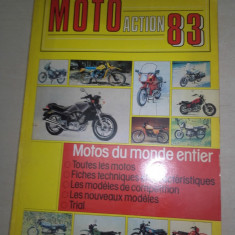 MOTO ACTION 1983 - Revista auto