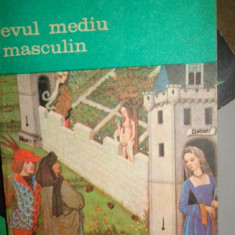 EVUL MEDIU MASCULIN AN 1992/282PAG= GEORGES DUBY - Filosofie
