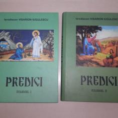 PREDICI (lor doua volume) IERODIACON VISARION IUGULESCU, 2014 - Carti Predici