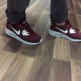 Adidasi unisex NIKE AIR MAX - Adidasi barbati Nike, Marime: 43, Culoare: Visiniu, Piele sintetica
