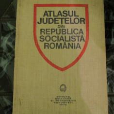 Atlasul judetelor din Republica Socialista Romania