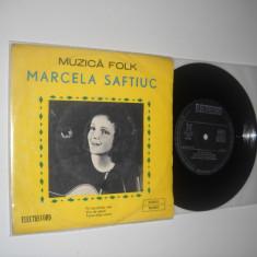 MARCELA SAFTIUC: Fiii Lacrimilor Tale, etc.(vinil VG+)EP cu 3 piese folk superbe - Muzica Folk electrecord