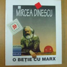 Mircea Dinescu O betie cu Marx Bucuresti 1996 - Carte poezie