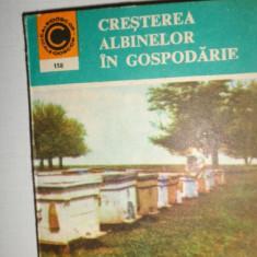 CRESTEREA ALBINELOR IN GOSPODARIE / APICULTURA 267PAG/ FORMAT 10X12 CM