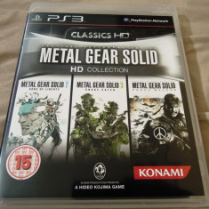 Metal Gear Solid HD Collection, PS3, original, alte sute de jocuri! - Jocuri PS3 Altele, Actiune, 18+, Single player