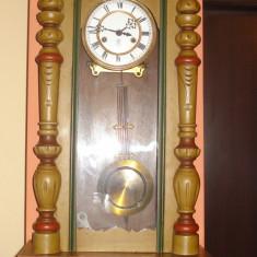 Ceas de perete cu pendul - Gustav Becker - Pendula