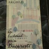 Cu bastonul prin Bucuresti - Princeps - Tudor Arghezi - Carte Editie princeps