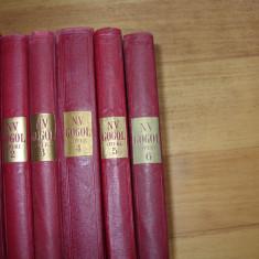 N. V. GOGOL - OPERE IN SASE VOLUME ( 6 vol., de colectie, foarte rare )*