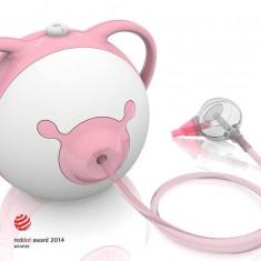 Nosiboo - Aspirator nazal electric pink - Aspirator nazal copii