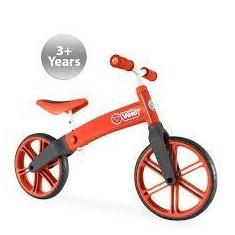 Ybike Yvolution YVelo motoras pentru copii rosu - Bicicleta copii