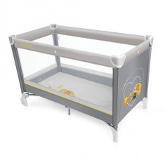 Baby Design Simple 07 gray 2016 - Patut pliabil