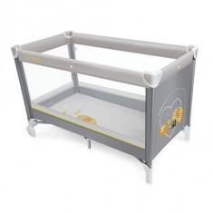 Baby Design Simple 07 gray 2016 - Patut pliabil - Patut pliant bebelusi