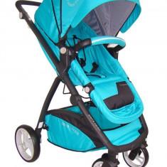 Pierre Cardin Neptune green (turquoise) - carucior multifunctional 3 in 1 - Carucior copii 3 in 1