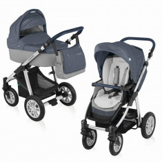 Baby Design Dotty 03 Blue 2016 - Carucior 2 in 1 - Carucior copii Landou