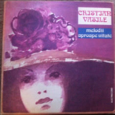Cristian Vasile Melodii aproape uitate disc vinyl lp Muzica Pop electrecord usoara slagare, VINIL
