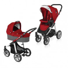 Baby Design Lupo 02 red 2016 - Carucior Multifunctional 2 in 1 - Carucior copii Landou