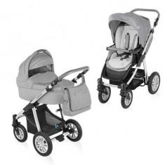 Baby Design Dotty 07 grey 2015 - Carucior 2 in 1 - Carucior copii 2 in 1
