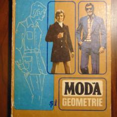 Moda si geometrie. Tehnica confectionarii imbracamintei - Petrache Dragu (1978) - Carte design vestimentar