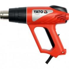 Pistol cu aer cald si termostat analogic+ac Yato YT-82292, 2000 W, 500 l/min - Suflanta