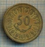 7970 MONEDA- TUNISIA - 50 MILLIM -anul 1983 -starea ce se vede, America Centrala si de Sud