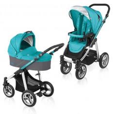 Baby Design Lupo 05 turquoise 2015 - Carucior Multifunctional 2 in 1 - Carucior copii Landou