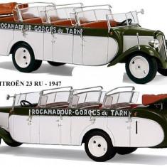 Macheta autobuz Citroen Type 23 U Chassaing - 1947 scara 1:43